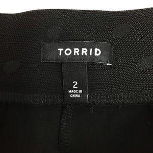 torrid Skirts - Torrid Polka Dot midi tulle Sheer black Party 2